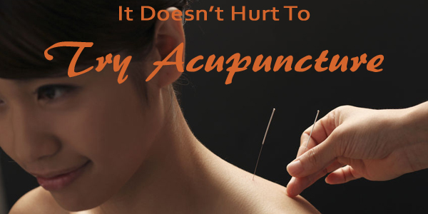 Try Acupuncture