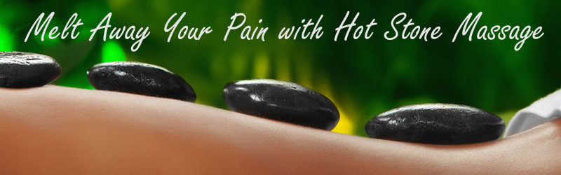 Melt away your pain with hot stone massage at Axis Natural Medicine in Fort Myers FL